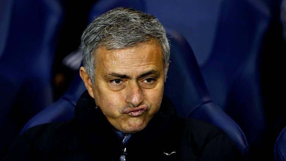 La victoria de España en fotos.En la foto, Mourinho, en un partido de la Premier.