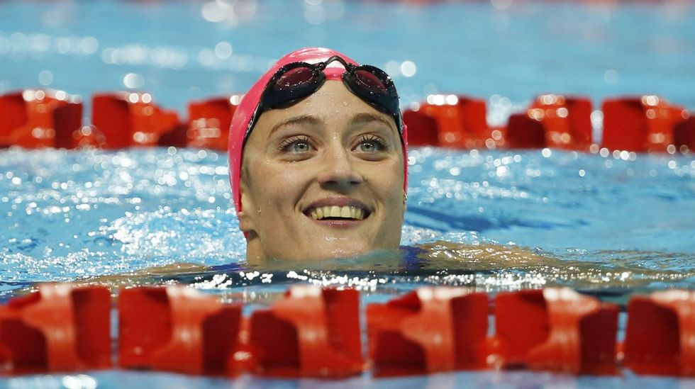 Mireia Belmonte agresión.La nadadora Mireia Belmonte
