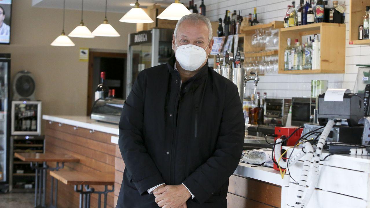 Luis Carlos Barca, del restaurante Avenida, en Ares
