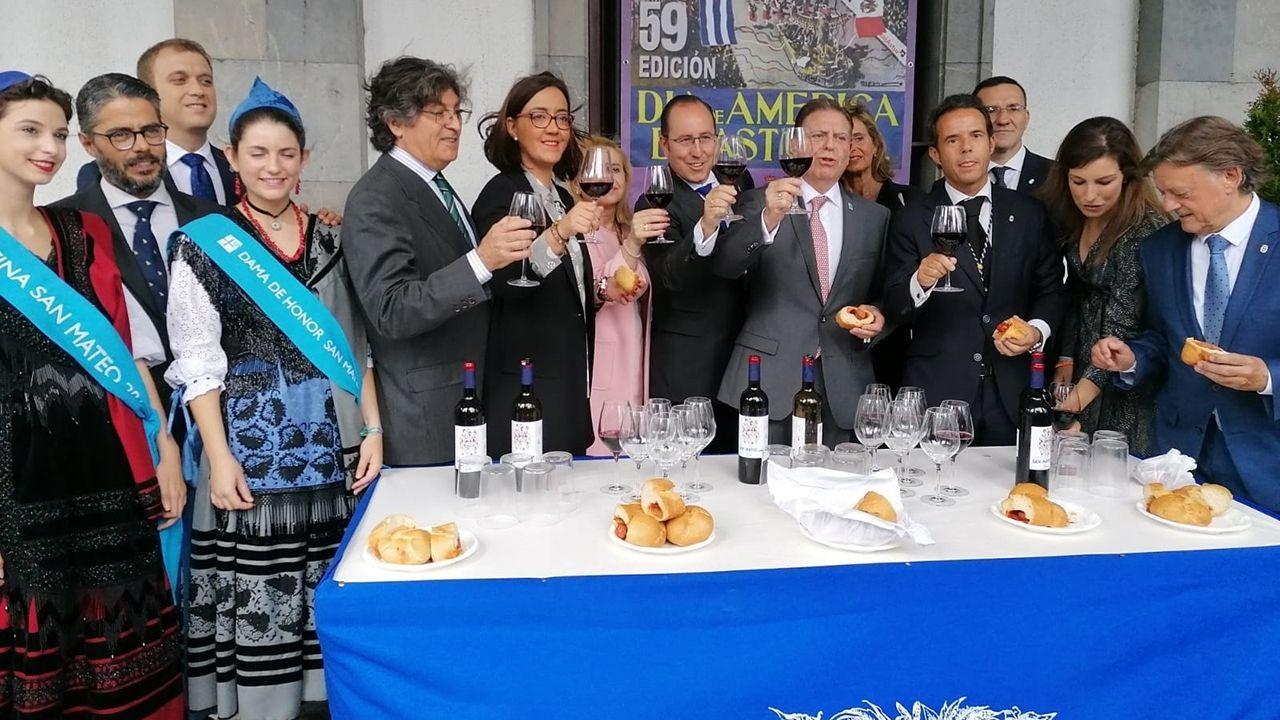 El equipo de gobierno de Oviedo celebra San Mateo