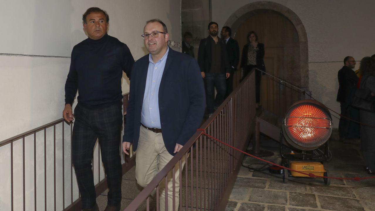 La vida de los 11 exconselleiros de Feijoo.Corina Porro, Manuel Pérez y Juan Corral, excandidatos del PP en Vigo