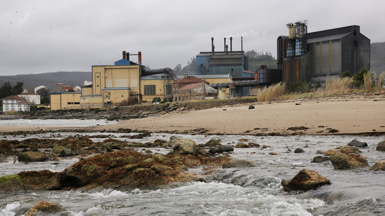 Instalaciones de Ferroatlántica en Cee