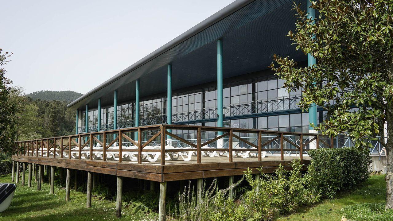 Laias, es uno de los tres balnearios del grupo Caldaria en Ourense