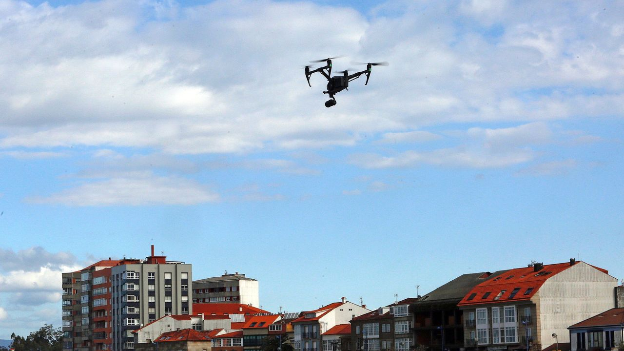 Imagen de archivo de un dron