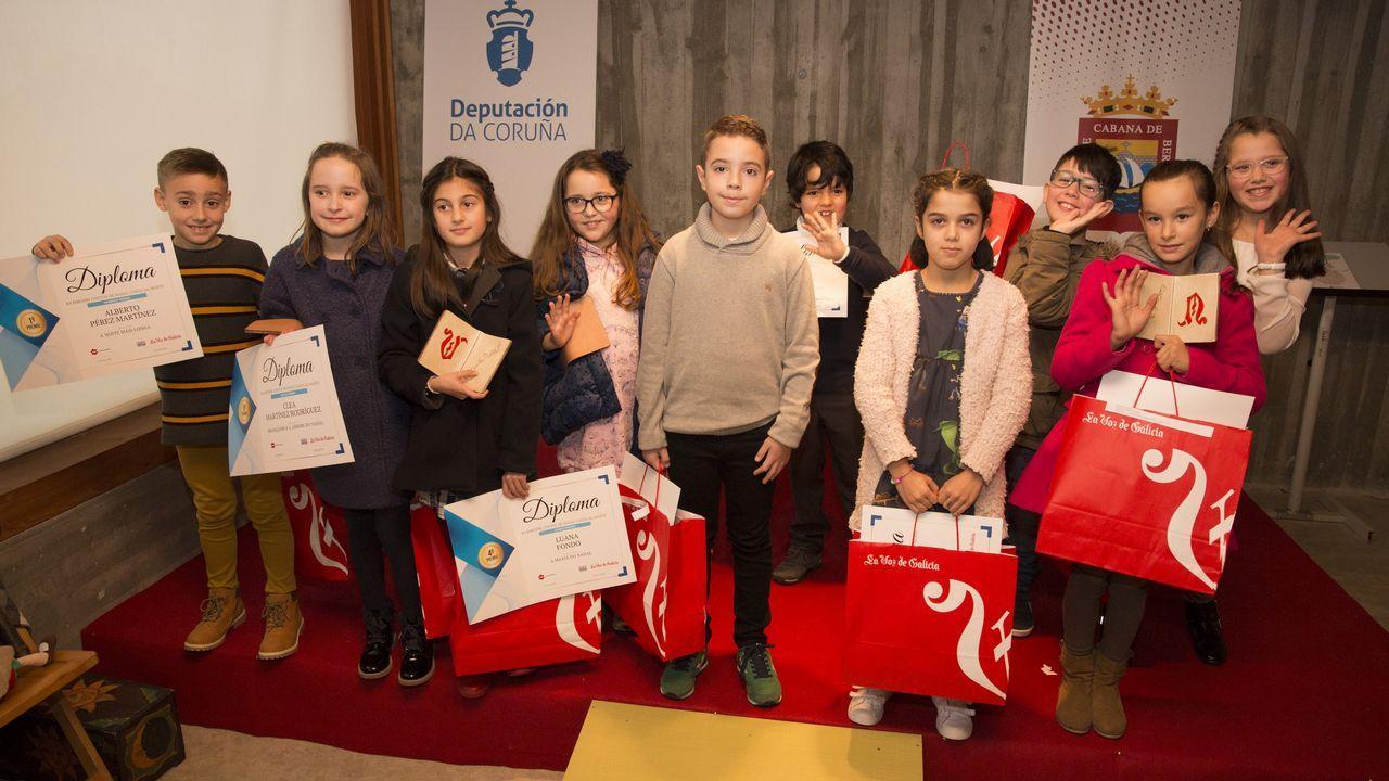 Os dez nenos premiados