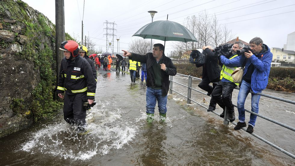 Más imágenes de las inundaciones en Neda