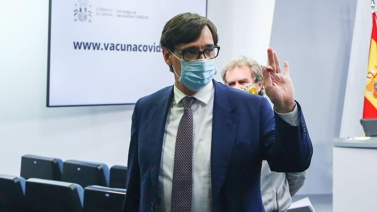 Salvador Illa es secretario de organización del PSC
