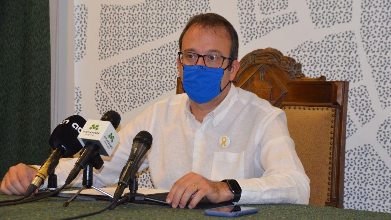 Marc Solsona, alcalde de Mullerussa, en Lérida