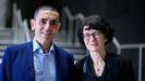 Los doctores alemanes Ugur Sahin y Özlem Türeid, ganadores junto con otros investigadores del Premio Princesa de Investigación Científica y Técnica 2021
