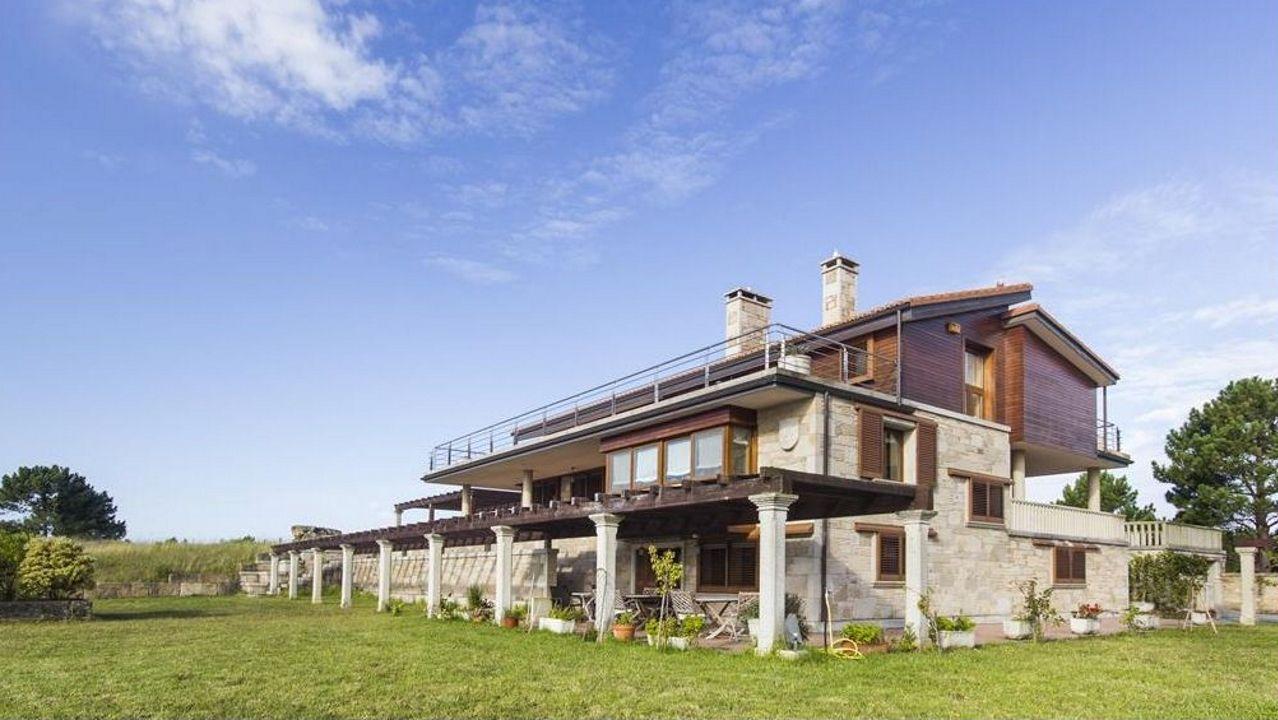 El inmueble tiene 503 metros cuadrados construidos y varias terrazas
