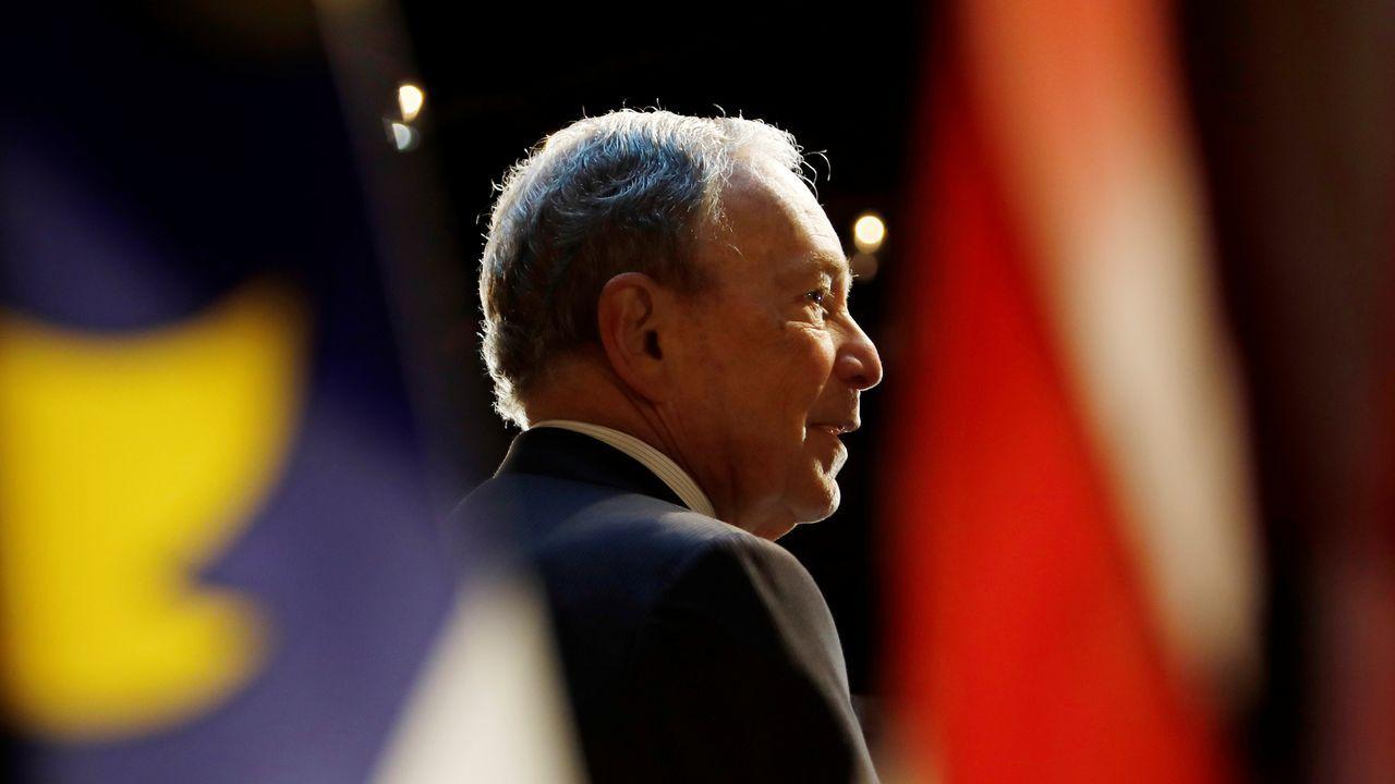 Michael Bloomberg, en una imagen de su campaña