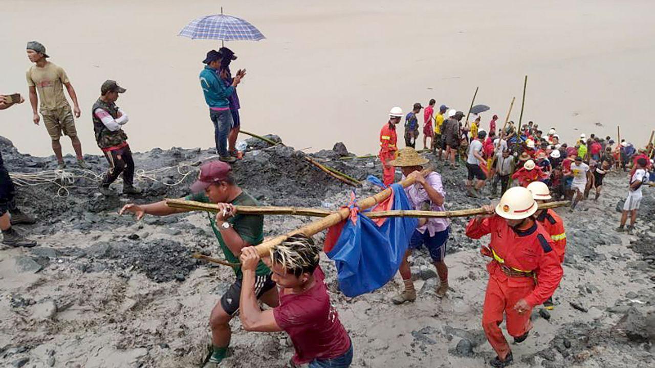 Las imágenes de la tragedia de Birmania.Dominic Raab, ministro de Asuntos Exteriores del Reino Unido