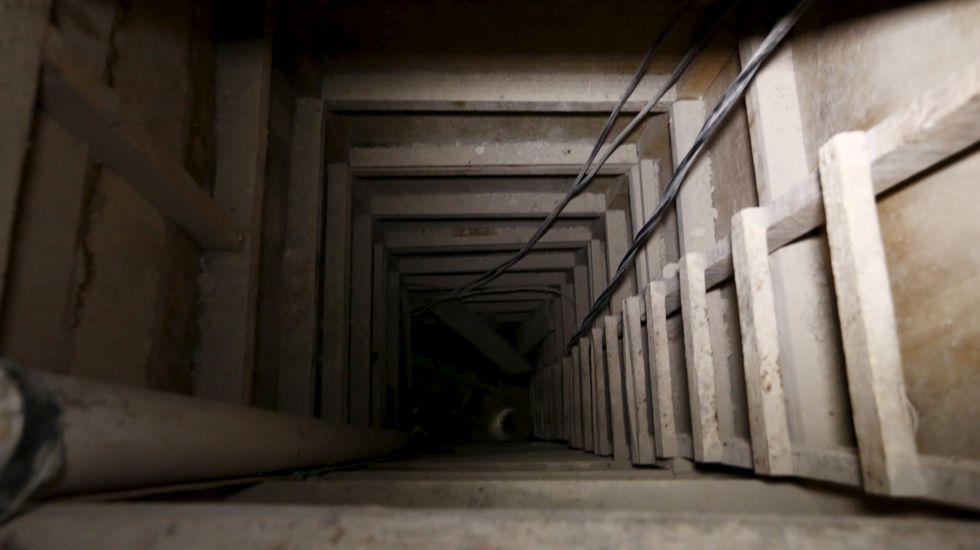 Otra vista de otra parte del túnel.