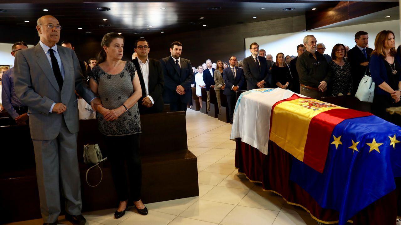 Funeral y entierro de Gerardo Fernández Albor