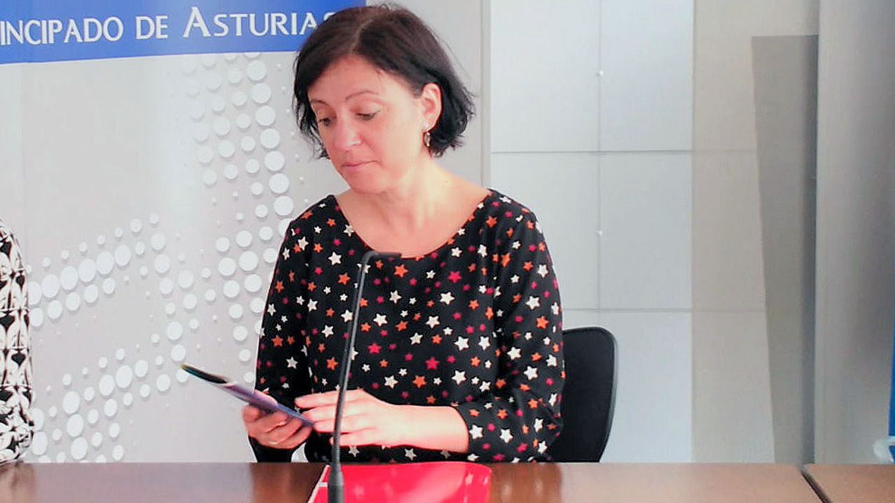 La directora del Instituto Asturiano de la Mujer, Almudena Cueto