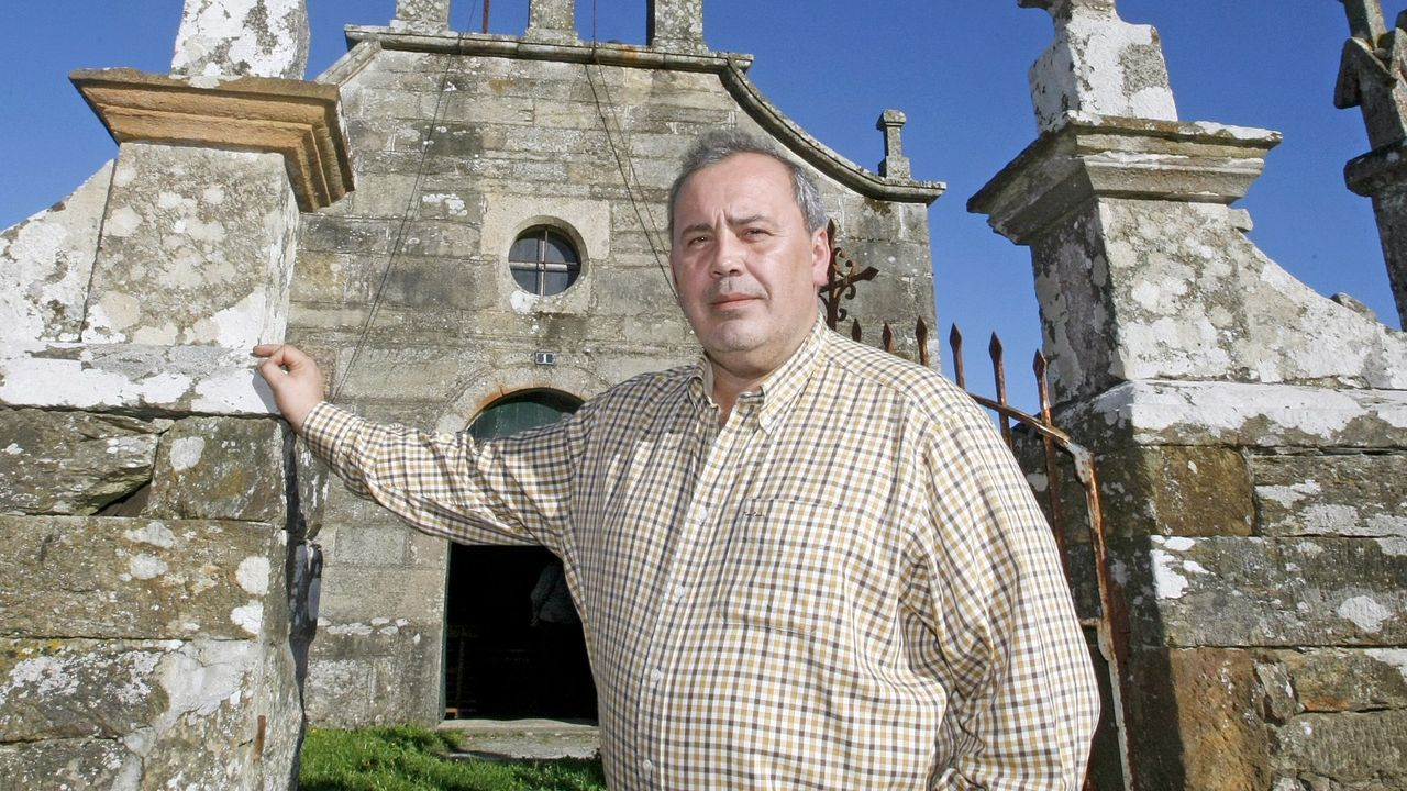 El alcalde de Portomarín, Juan Carlos Serrano
