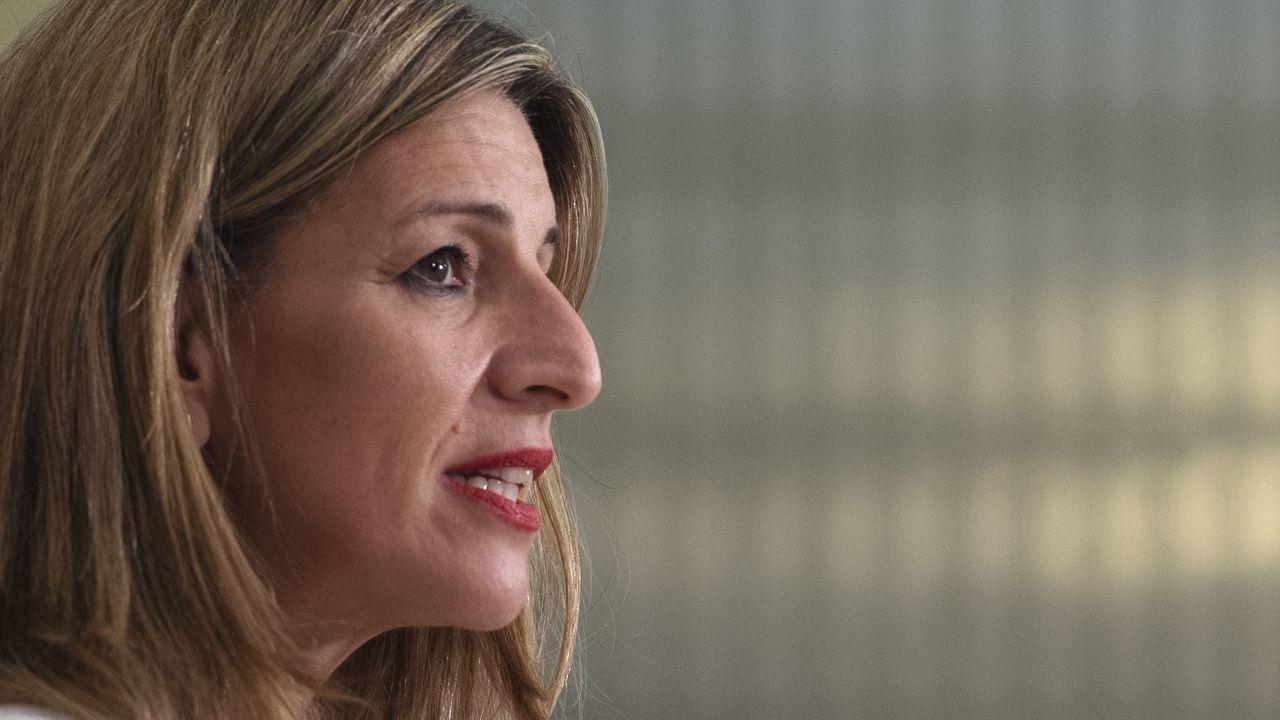 La vicepresidenta tercera y ministra de Trabajo, Yolanda Díaz