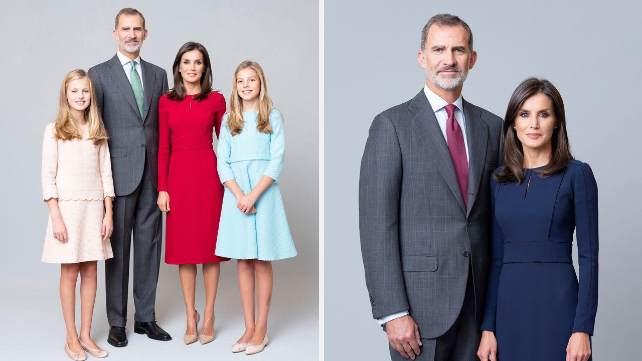 La familia real hace pública su nueva imagen