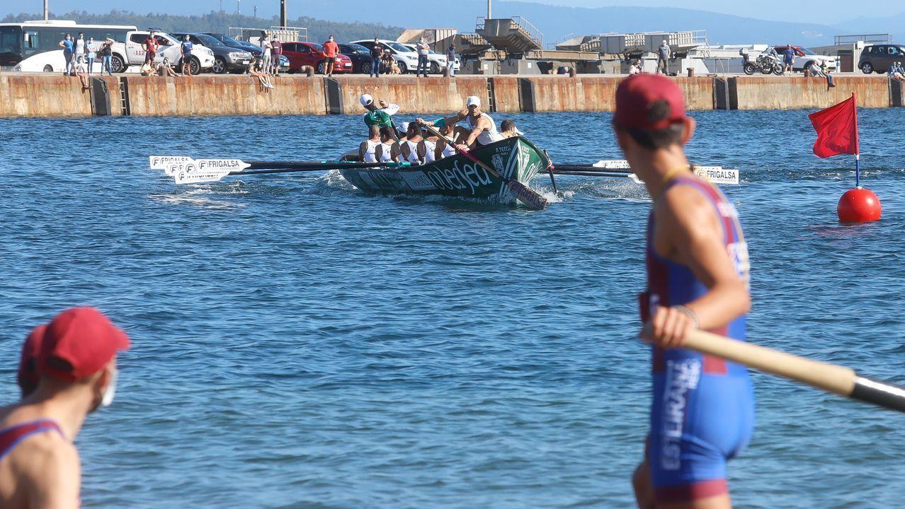 A Pobravibró con la primera jornada de la Liga Galega de Trainerillas.El equipo masculino se entrenó este lunes por última vez antes de viajar al País Vasco
