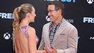 Reynolds posa junto a su esposa, Blake Lively, durante el reciente estreno del filme «Free Guy» en Nueva York.