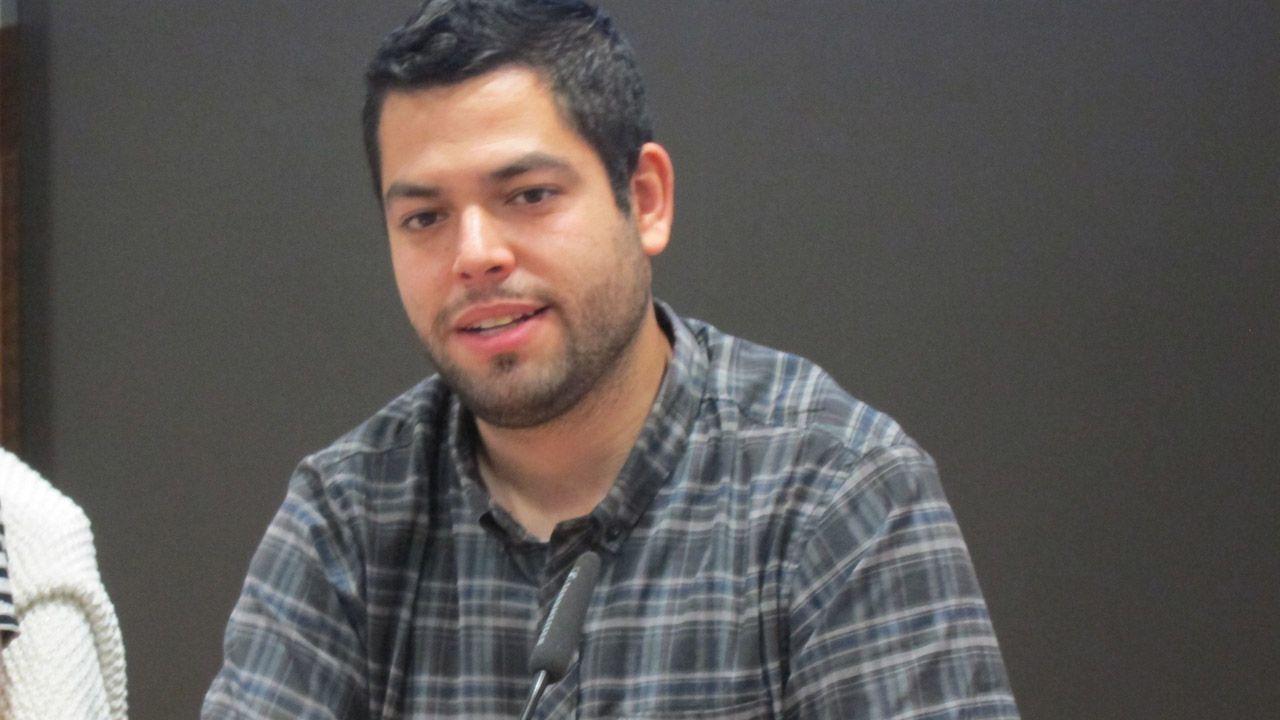 Gascona, sidra, sidrerías,.El concejal de Economía y Empleo, Rubén Rosón