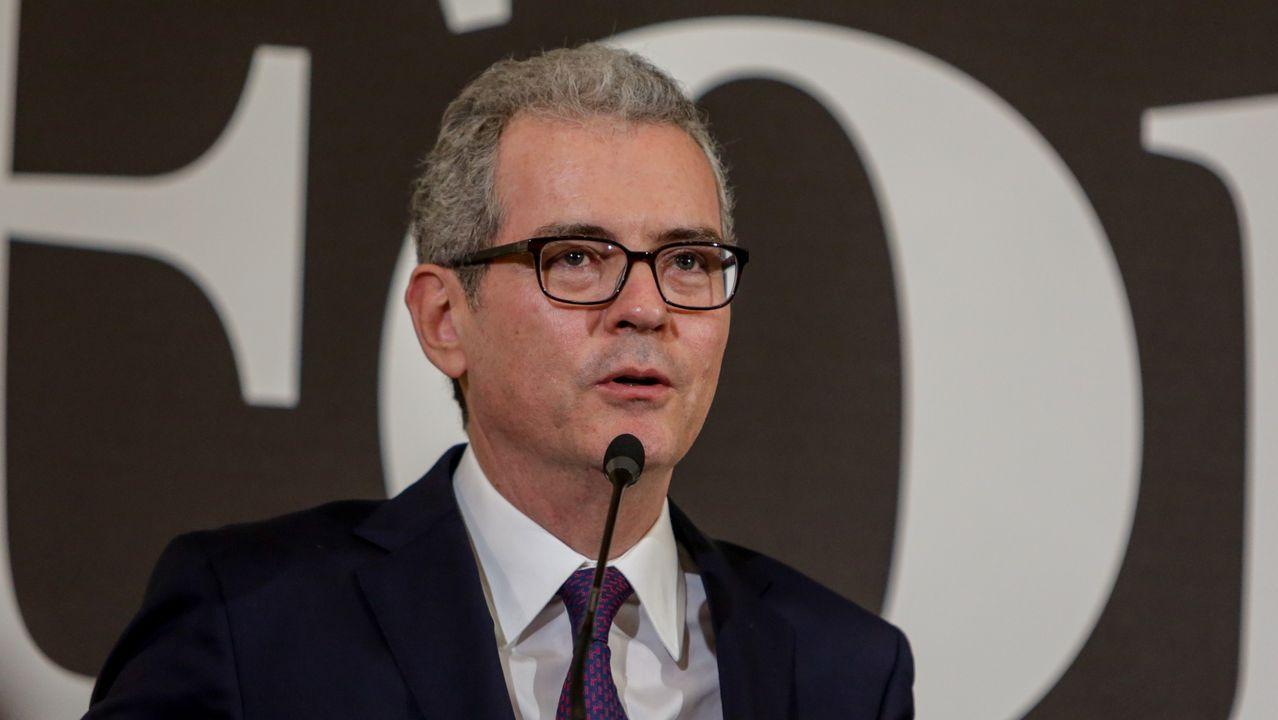 Inditex obtiene un resultado trimestral negativo por primera vez en su historia.Pablo Isla, en una imagen de archivo