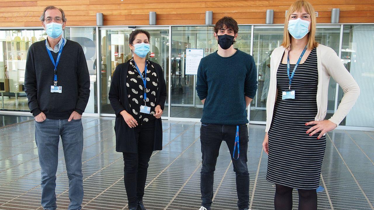 Equipo del Instituto Hospital del Mar de Investigaciones Médicas de Barcelona. Javier Louro es el tercero por la izquierda