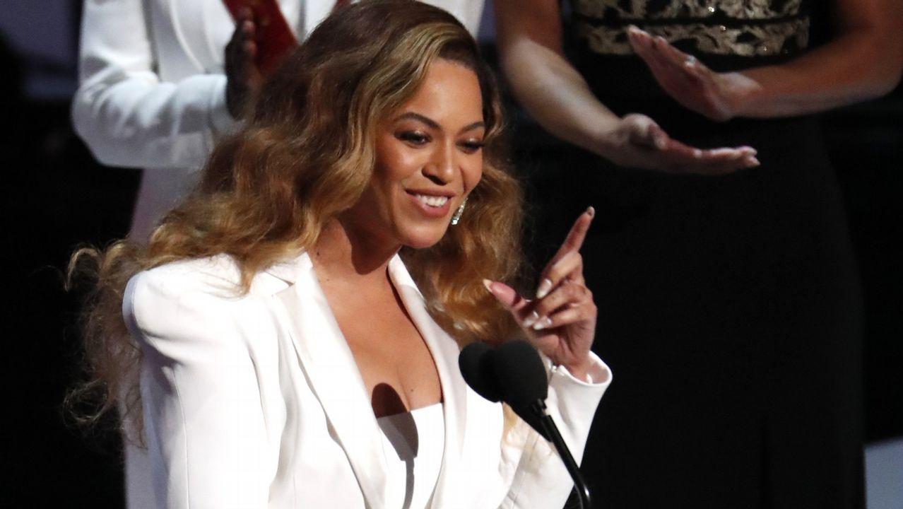 El encuentro entre Meghan Markle y Beyoncé.BEYONCE EN UN MOMENTO DEL DOCUMENTAL