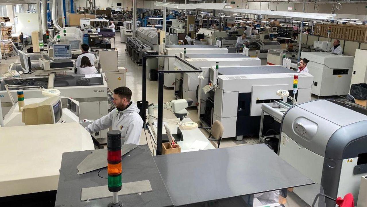 La plantilla de Arteixo Telecom está formada por 120 trabajadores