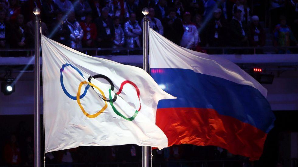La AMA: «Rusia manipuló analíticas en los JJOO de Sochi».Putin, con el presidente del COI, Thomas Bach, en el 2014