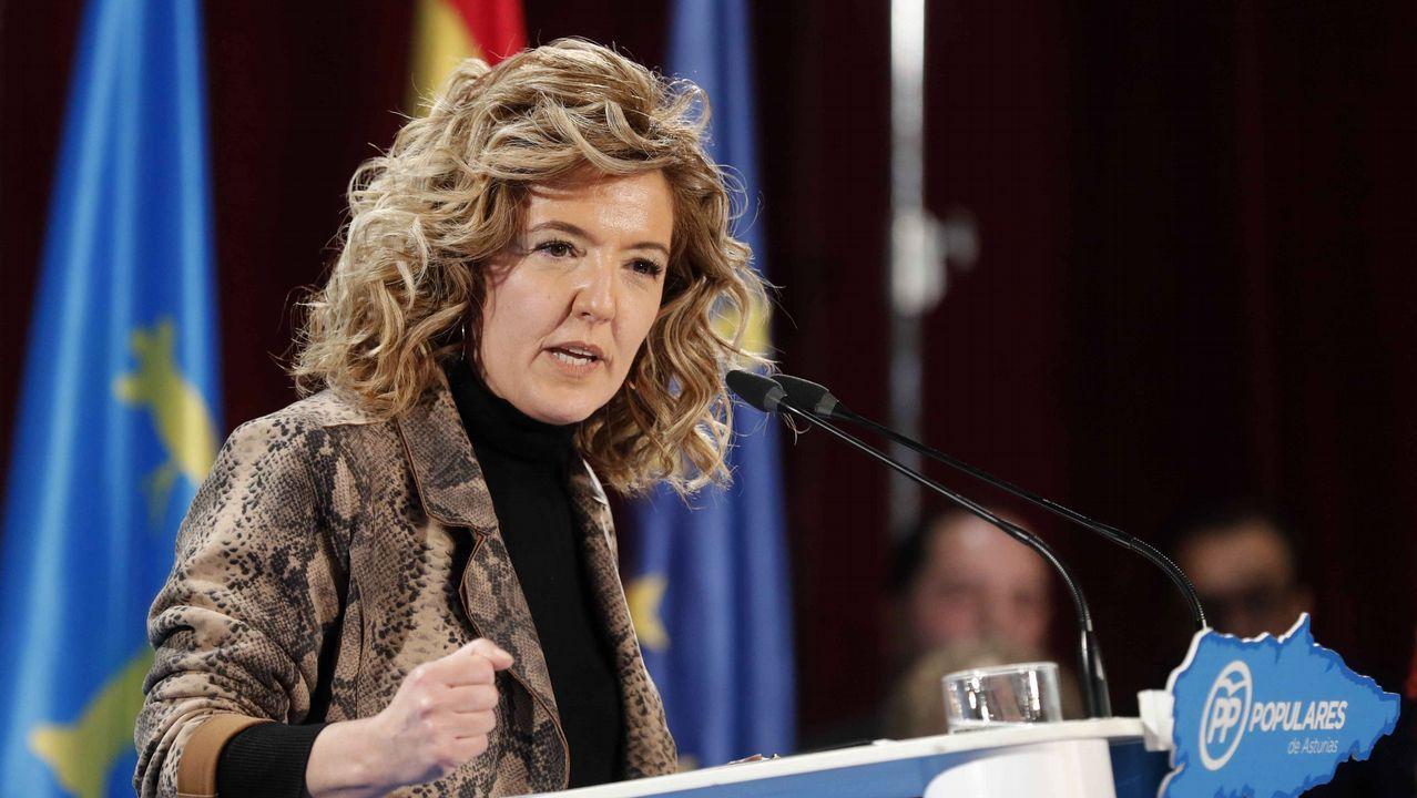 Teresa Mallada, expresidenta de Hunosa y candidata popular a la Presidencia del Principado