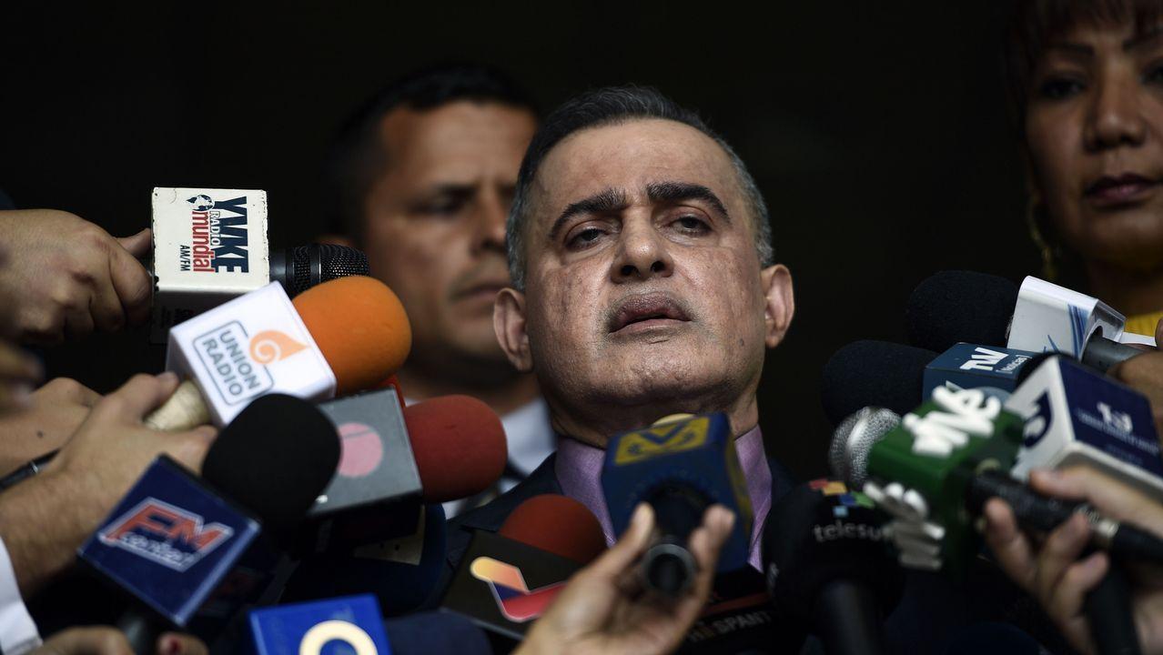 La oposición a Maduro vuelve a las calles.El fiscal general de Venezuela, Tarek William Saab, quiere que se bloqueen las cuentas del líder opositor