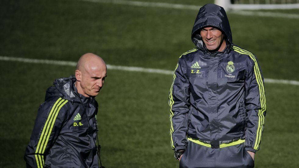 Zidane, ante la visita del Espanyol: «Tenemos que meter goles».En el comedor social de San Francisco ayer se sirvieron más de cien platos de fabada de Marcón.