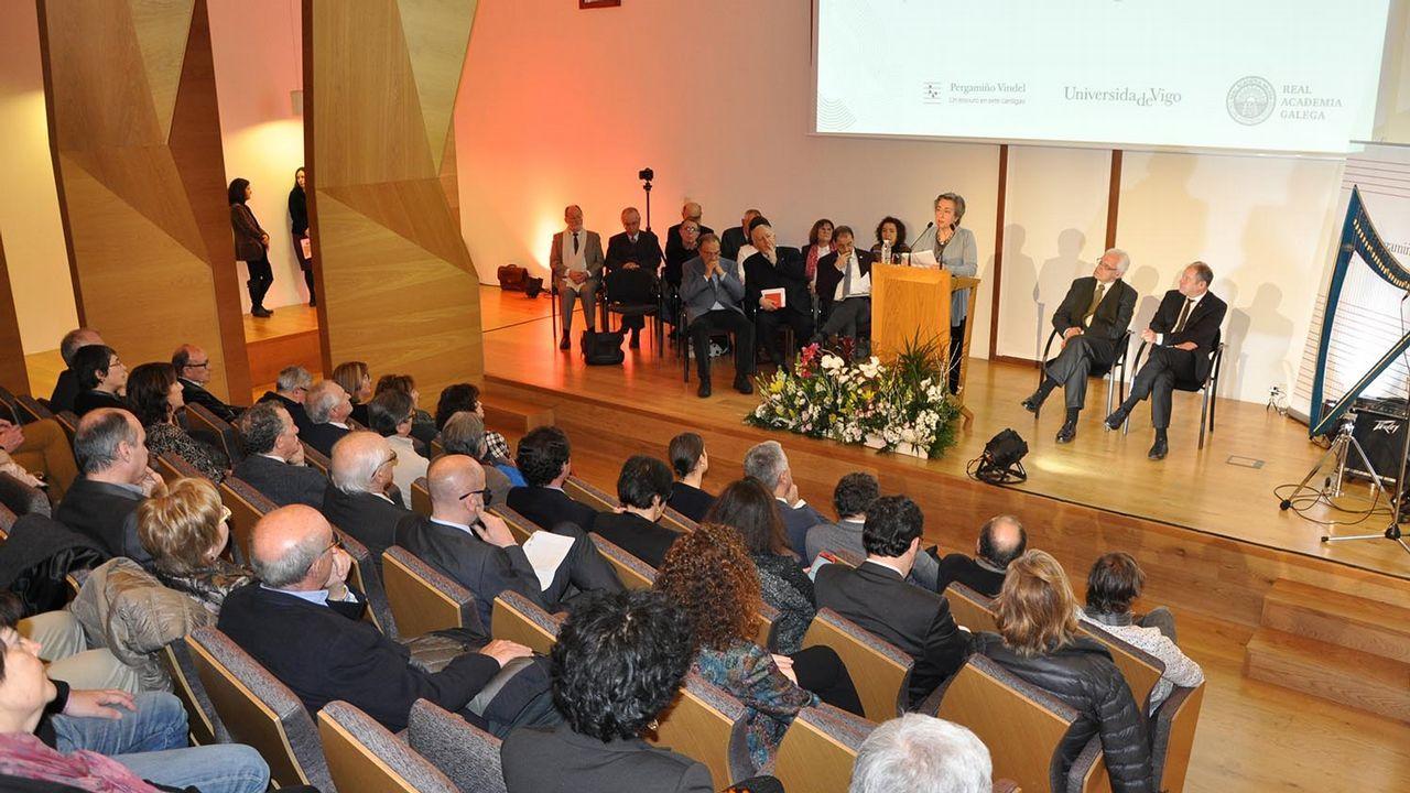 De arriba a abajo, y de izquierda a derecha, Juan Viaño, Emilio Fernández, Antonio López y Manuel Reigosa