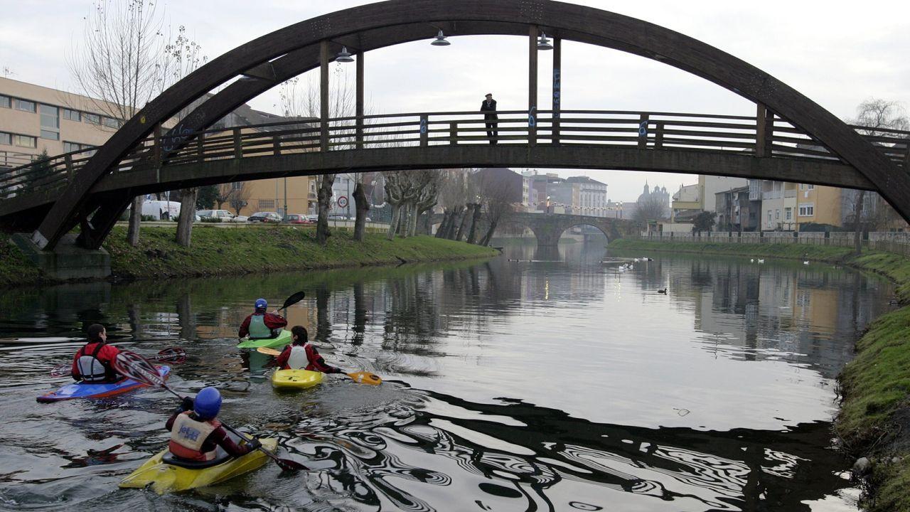 El Ayuntamiento proyecta construir el nuevo puente en la zona donde ahora se encuentra la pasarela de madera del Malecón