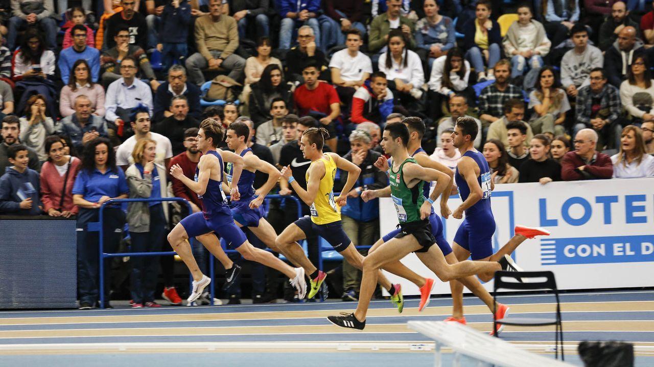 Imagen del Campeonato de España Absoluto celebrado en Expourense en el 2020