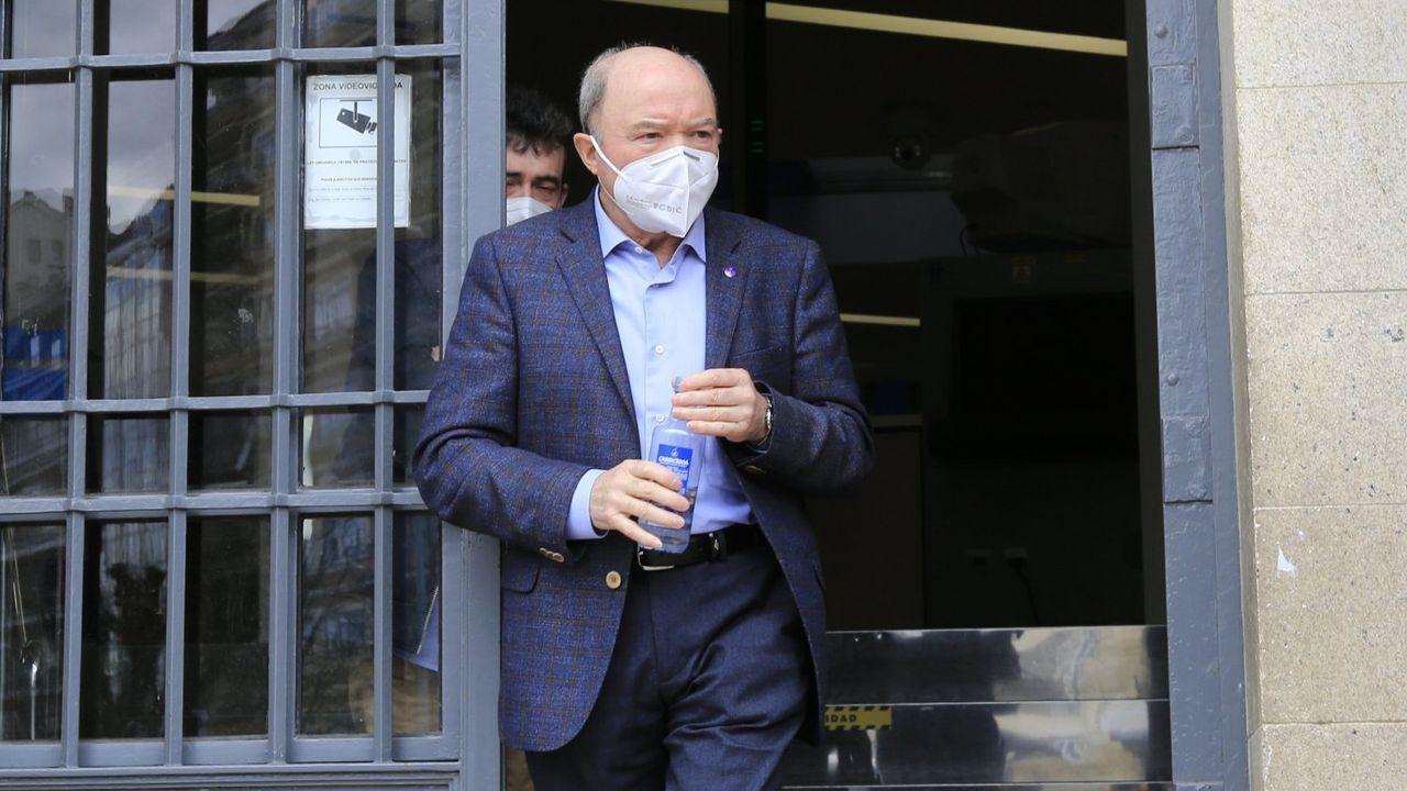 El miércoles 31 arrancan en Galicia tres nuevos juzgados de lo Social: A Coruña, Vigo y Lugo.Francisco Liñares, a la salida de la Audiencia Provincial de Lugo