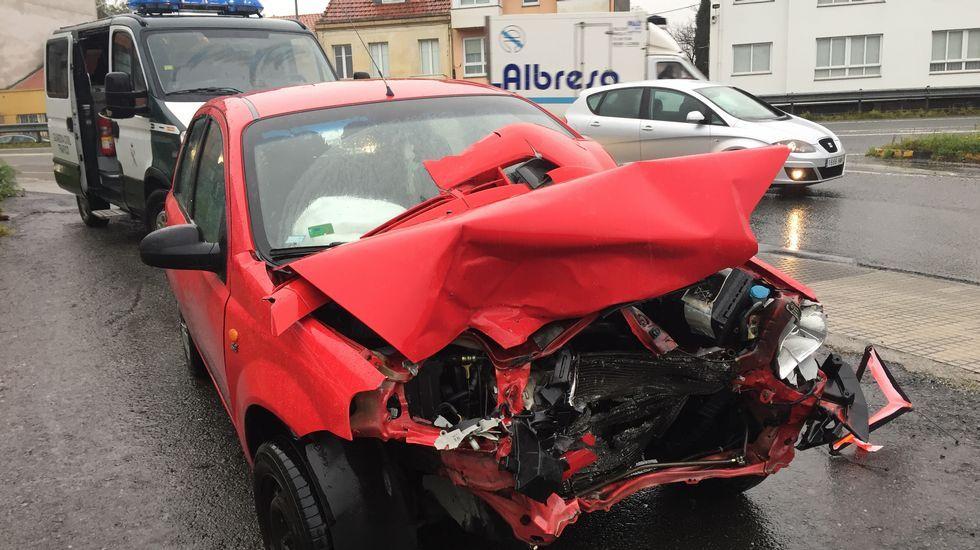 Accidente en Pedralonga Lluvias en A Coruña