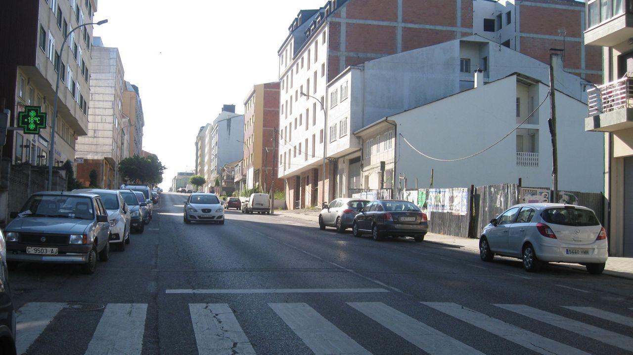 McDonald's prefiere el queso de Lugo.La avenida da Terra Chá fue escenario del bum urbanístico de Vilalba