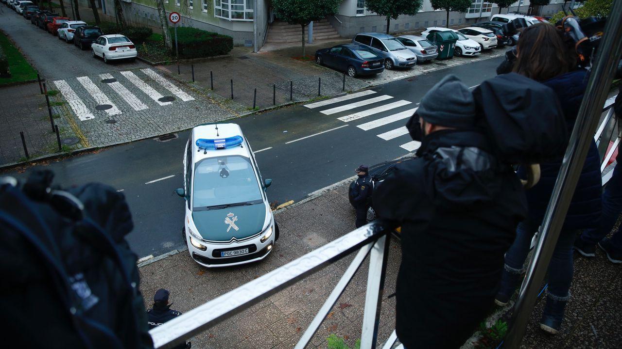 Continúa la expectacion de los medios en la sexta jornada del juicio por el crimen contra de Diana Quer
