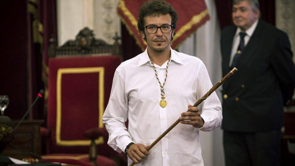 José María González Santos, Kichi,  alcalde de Cádiz por Adelante Cádiz-Podemos
