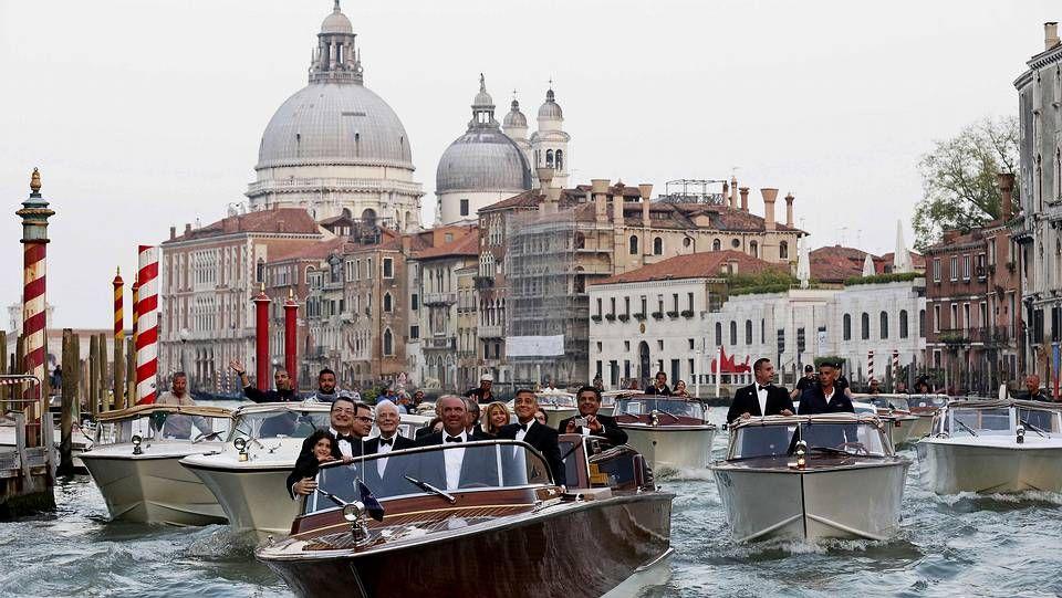 Cortejo nupcial en Venecia