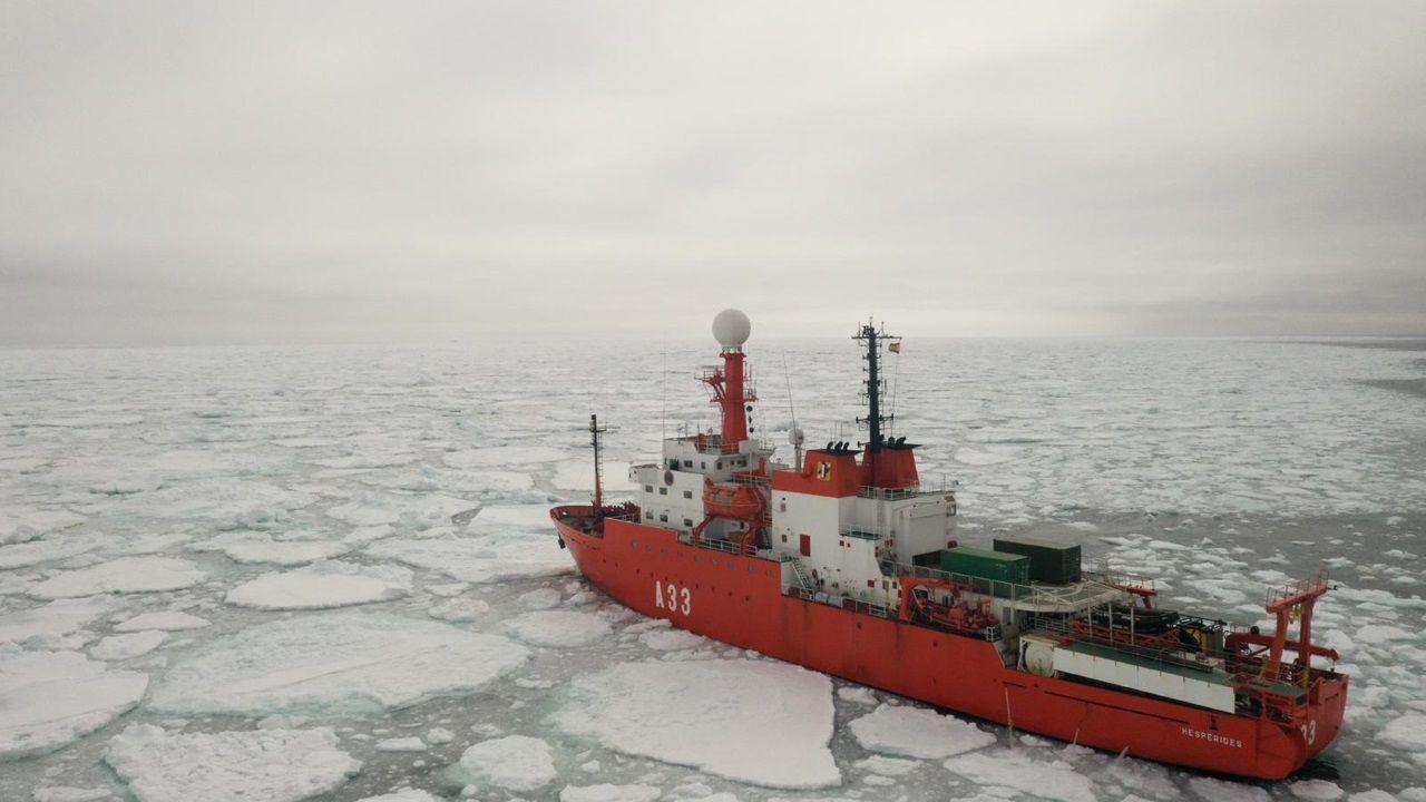 Cruzando las aguas más hostiles de la Tierra a bordo del BIO Hespérides