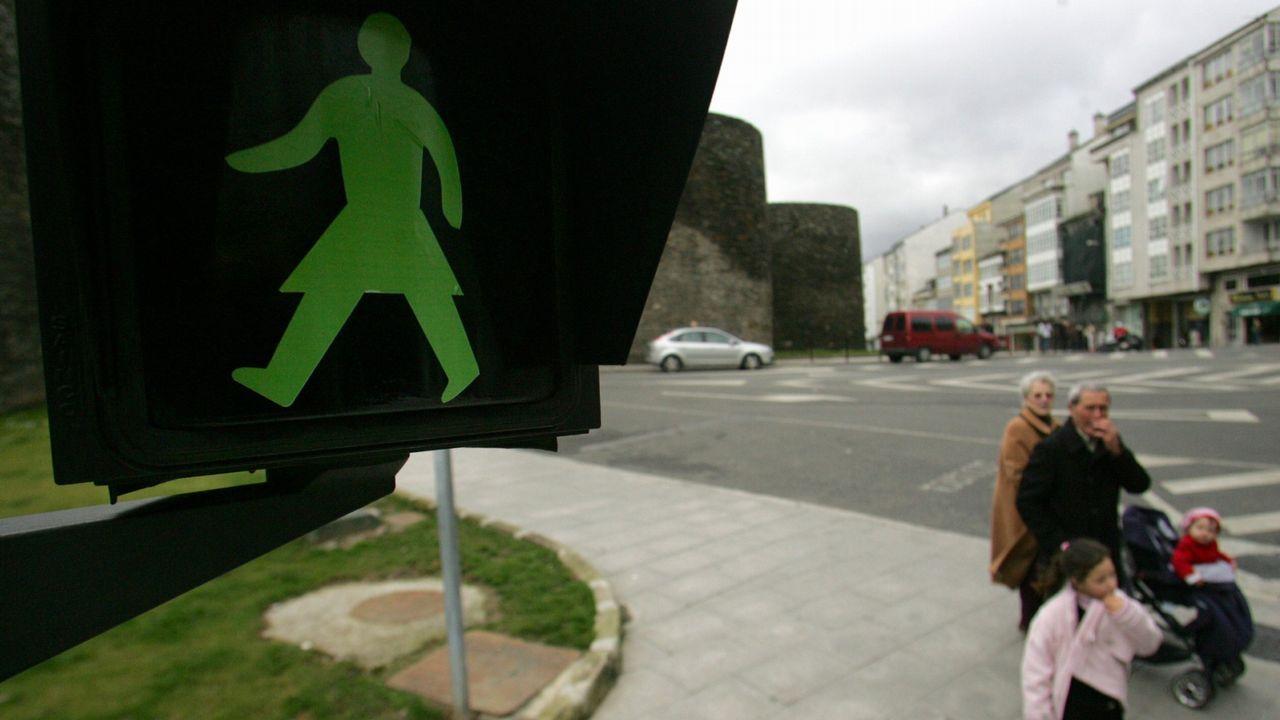 Obras en El Camiño Real en el acceso al Parador de Monterrei