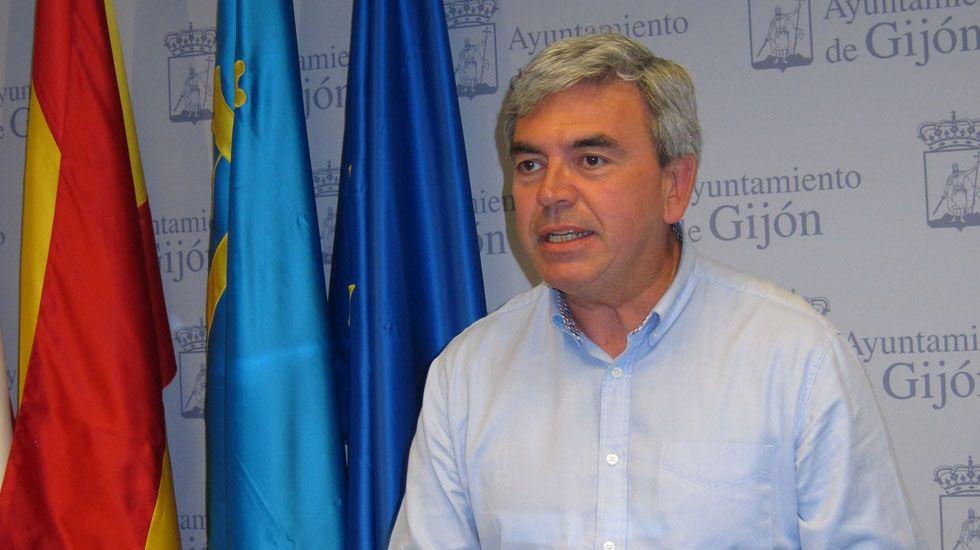 El presidente del PP de Gijón, Mariano Marín.