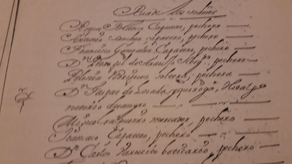 Manuscrito referido a uno de los primeros boticarios