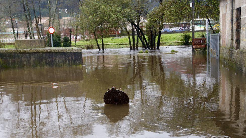 Inundaciones en Gondomar.