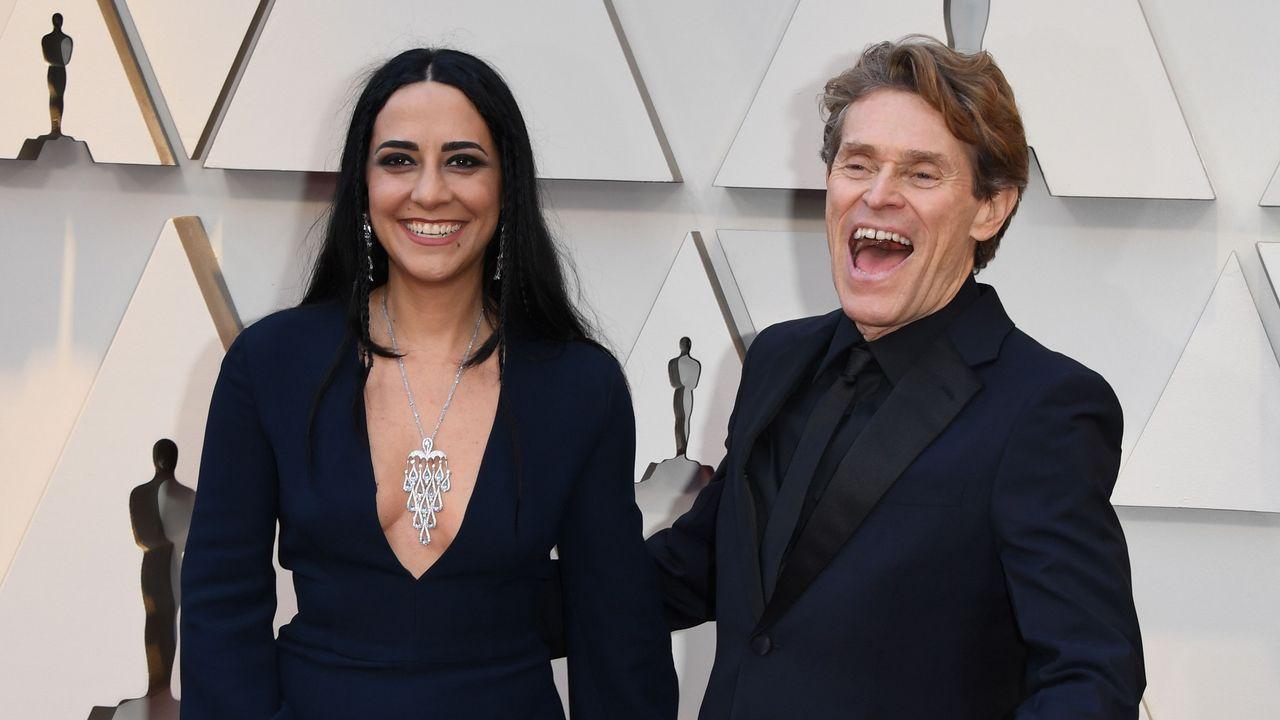 Willem Dafoe y su esposa Giada Colagrande