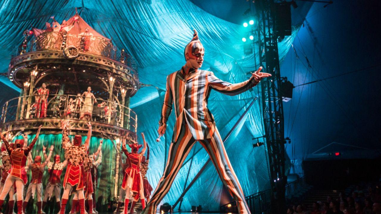 Kooza.Un momento del espectáculo «Kooza», de Cirque du Soleil