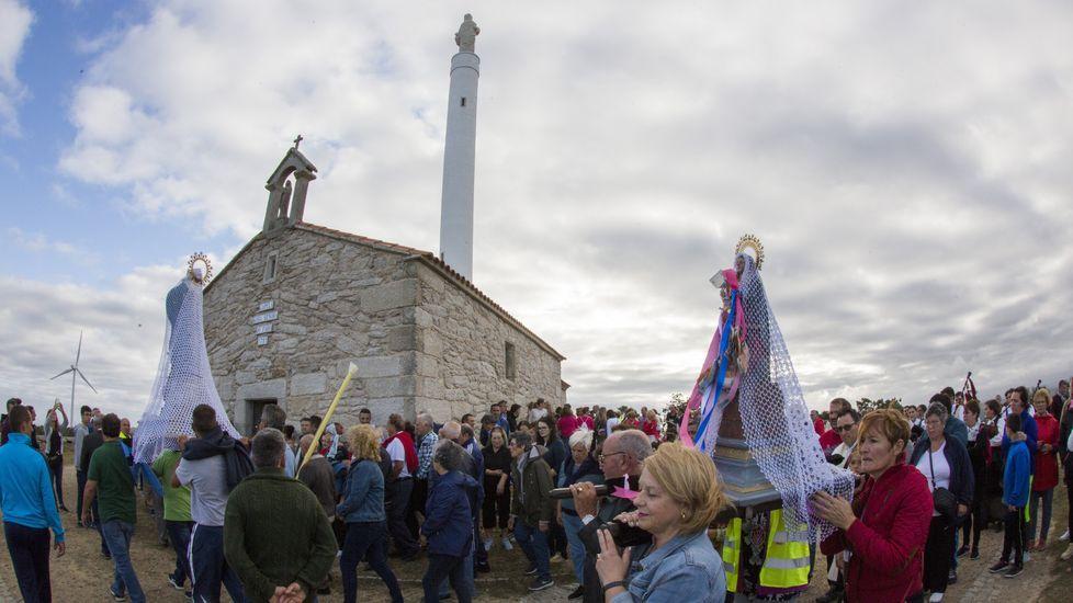 La Romaría da Virxe do Faro de Brantuas, ¡en imágenes!